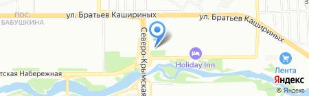 Pinzar на карте Челябинска