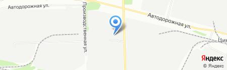 Натали-Верто на карте Челябинска