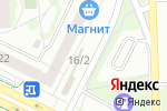 Схема проезда до компании Азбука цветов в Челябинске