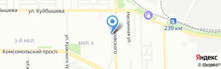 Барбарис на карте Челябинска