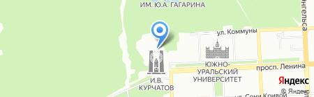Фаворит на карте Челябинска