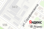 Схема проезда до компании РусАз в Челябинске