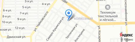 УРАЛКУРС на карте Челябинска