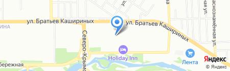 VIN-код АВТО на карте Челябинска