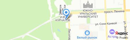 Агросервис на карте Челябинска