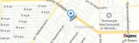 Юнитекс на карте Челябинска