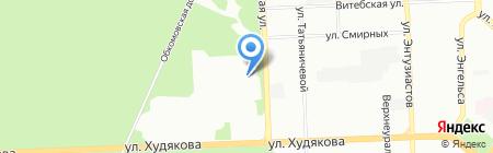 Elvis на карте Челябинска
