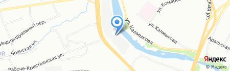 Урал-КМУ на карте Челябинска
