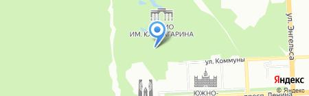 Ледовый каток на карте Челябинска