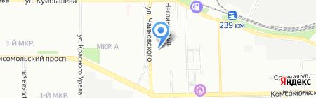 УралСпецСтройМонтаж на карте Челябинска
