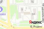 Схема проезда до компании Автовышка в Челябинске