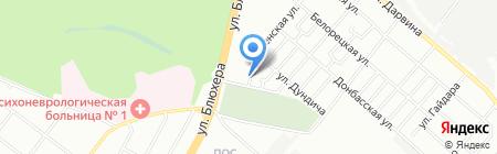 НСТ на карте Челябинска