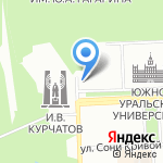 Иконная лавка на карте Челябинска