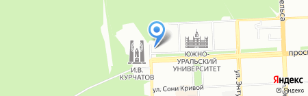 Поликлиника на карте Челябинска