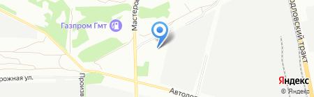 Полипро на карте Челябинска