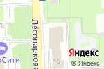 Схема проезда до компании La Rose D`OR в Челябинске