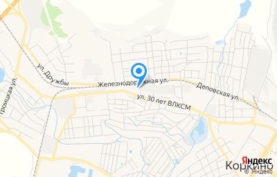 Местоположение на карте пункта техосмотра по адресу Челябинская обл, г Коркино, ул 30 лет ВЛКСМ, д 126А