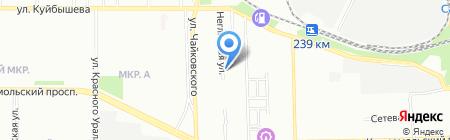 Квалитек-Сервис на карте Челябинска