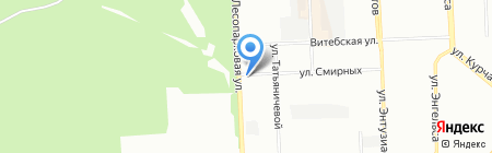 Fazer на карте Челябинска