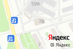 Схема проезда до компании Металлург в Челябинске