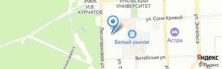 WhiteSmile на карте Челябинска