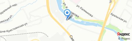 Колор Маркет Урал на карте Челябинска