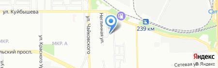 Алькор на карте Челябинска