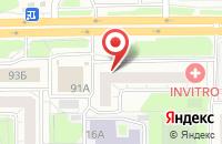 Схема проезда до компании Шпилька - Южный Урал в Челябинске