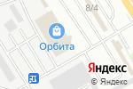 Схема проезда до компании Сантехорбита в Челябинске