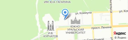 Курс дела на карте Челябинска