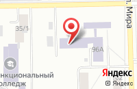 Схема проезда до компании Уральский Профессиональный Колледж в Челябинске