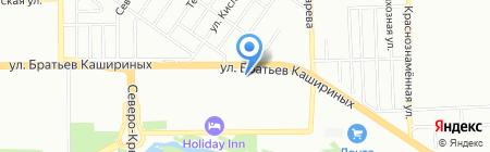 Виола на карте Челябинска