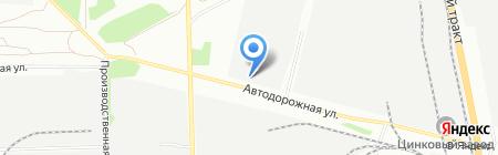 Арелайн на карте Челябинска