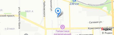 Принт-системы на карте Челябинска