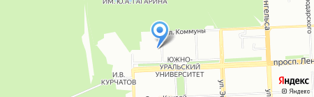Институт международного образования на карте Челябинска
