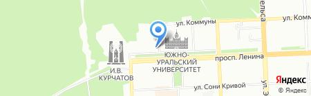 Студенческий стиль на карте Челябинска