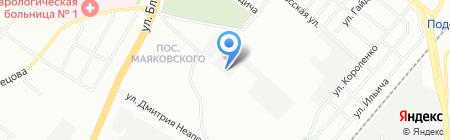 КПС-Урал на карте Челябинска