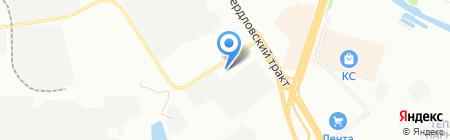 ТрансТорг на карте Челябинска
