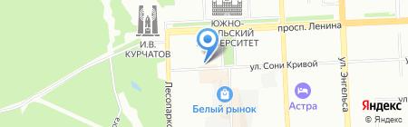 Magic на карте Челябинска