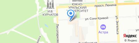 ЧелПромМодель на карте Челябинска