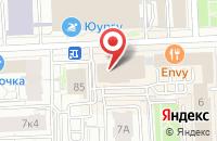 Схема проезда до компании Телесемь-Челябинск в Челябинске
