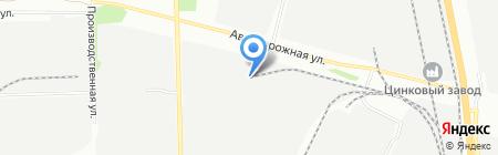 Центратор на карте Челябинска