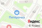 Схема проезда до компании Восьмёрочка в Челябинске