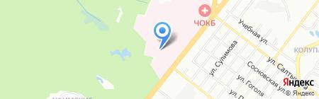 Банкомат Уралпромбанк на карте Челябинска