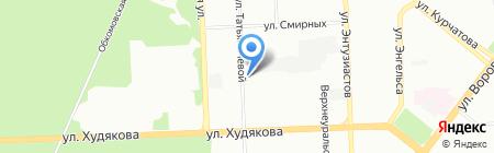 Интервал на карте Челябинска
