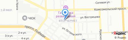 Детский сад №77 на карте Челябинска