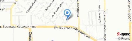 Кругосветка на карте Челябинска