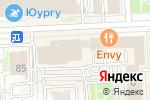 Схема проезда до компании ТОР в Челябинске