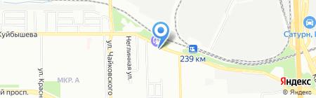 Автосвет74 на карте Челябинска
