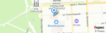 Банкомат МТС-Банк на карте Челябинска